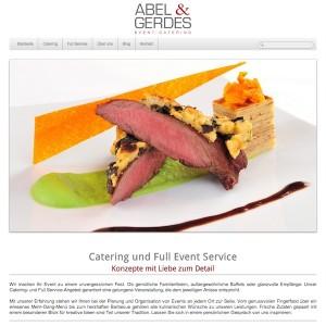 Abel und Gerdes Catering Website